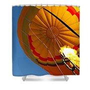 Hot Air Ballooning 2am-29241 Shower Curtain