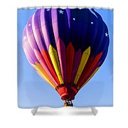 Hot Air Ballooning In Vermont Shower Curtain