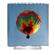 Hot-air Balloons Over Paradise - Immokalee 2014  Number 2  Shower Curtain