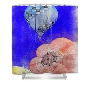 Hot Air Balloons Photo Art 03 Shower Curtain