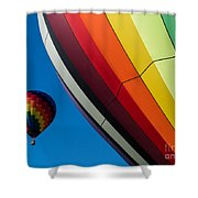 Hot Air Balloons Quechee Vermont Shower Curtain