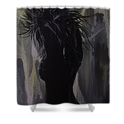 Hot And Cold Shower Curtain