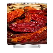 Hot And Spicy Shower Curtain