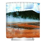 Hot And Steamy Shower Curtain