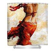 Hot Breeze 03 Shower Curtain