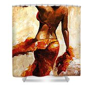 Hot Breeze  Shower Curtain