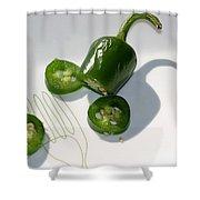 Hot Chili Pepper Shower Curtain