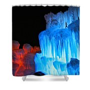 Hot Cold Shower Curtain
