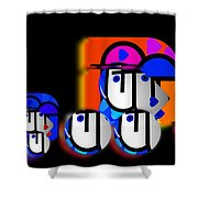 Hot Convoy Shower Curtain