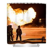 Hot Flames Shower Curtain