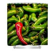 Hot Hot Hot Shower Curtain