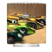 Hot Line Up Shower Curtain