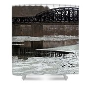 Hot Metal Bridge Shower Curtain