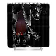 Hot Milk Shower Curtain