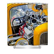Hot Rod Shower Curtain