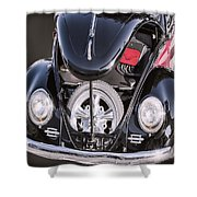 Hot Rod Vw  Shower Curtain