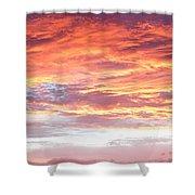 Hot Sky Shower Curtain