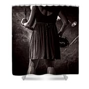 Hot Summer Night Shower Curtain by Bob Orsillo