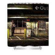 Hot Summer Night Out Shower Curtain by Bob Orsillo