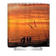 Hot Sunset Shower Curtain