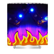 Hot Times On Earth With Ufo's Shower Curtain