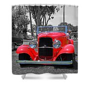 Hot V8 Shower Curtain