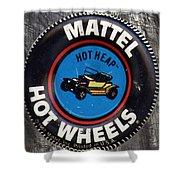 Hot Wheels Hot Heap Shower Curtain