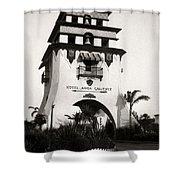Hotel Agua Caliente Mexico Shower Curtain