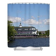 Hotel At Lake Winnipesaukee Shower Curtain