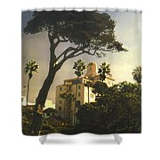 Hotel California- La Jolla Shower Curtain
