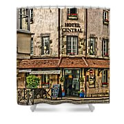 Hotel Central In Beaune France Shower Curtain