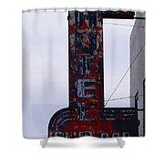 Hotel Club And Bar  Plentywood Montana Shower Curtain