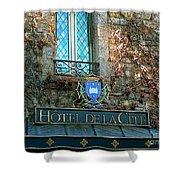 Hotel De La Cite Shower Curtain by France  Art