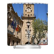 Hotel De Ville - Aix En Provence Shower Curtain