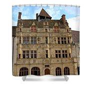 Hotel De Ville - Paray Le Monial Shower Curtain
