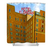 Hotel Floridan Shower Curtain
