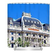 Hotel Gallia Shower Curtain