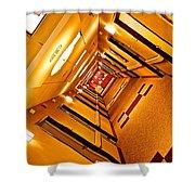 Hotel Hallway Shower Curtain