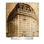 Hotel Pontchartrain Detroit 1910 Shower Curtain by Mountain Dreams
