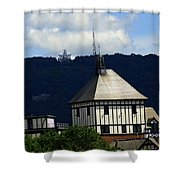 Hotel Roanoke And Star Shower Curtain