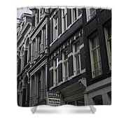 Hotel Rooms Clean And Simple Amsterdam Shower Curtain