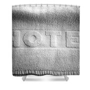 Hotel Towel Shower Curtain