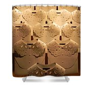 Louis Vuitton Window Display Shower Curtain