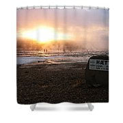 Hotpool Shower Curtain