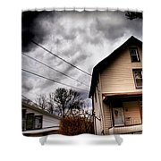 Old House 3 Shower Curtain