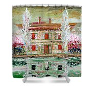 House And River Shower Curtain