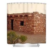 House At The Timbisha Shoshone Homeland Shower Curtain