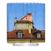 House Attic Shower Curtain by Artur Bogacki