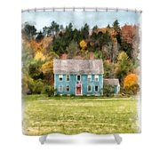 House By The Woods Shower Curtain