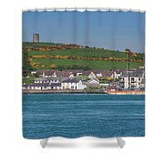 House In A Town, Portaferry Shower Curtain
